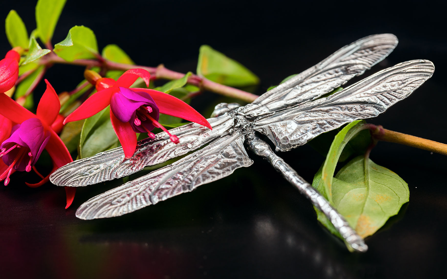 Fine Art product Photography of bespoke Silver jewellery